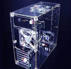 Pc Case Diy Diy Transparent Acrylic Computer Case Personalized Pc Box Cooling