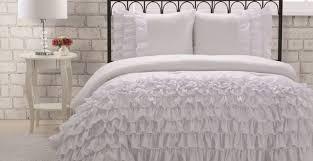 Ebay Crib Bedding Sets by Bedding Set Ideal Striking White Ruffle Bedding Ebay Memorable