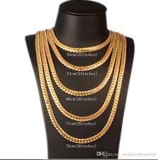 gold pendant chain bracelet images Wholesale 2018 punk chunky 6mm snake chain necklace bracelet jpg