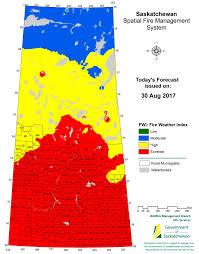 Map Of Saskatchewan Province Expands Fire Ban Prince Albert Daily Herald