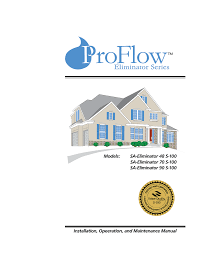 proflow water softener specifications
