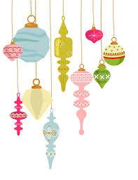 10 vintage ornament clip decoration