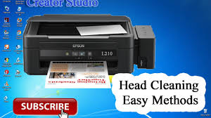 reset printer l210 manual epson l210 clean how to head cleaning youtube