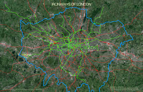 Blank Map Of London by Openstreetmap Suprageography