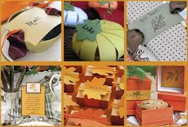 paper crafts for your thanksgiving table celebrations at home