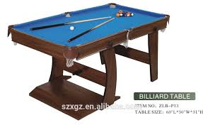 5ft Folding Pool Table Folding Pool Table Folding Pool Table Suppliers And Manufacturers