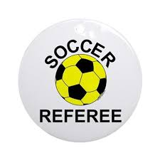 soccer referee ornament by not just shirts