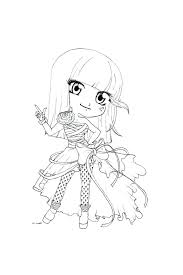 monster high chibi coloring pages coloring pages chibi cute coloring pages art mini chibi coloring