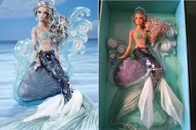 real images the mermaid barbie 2012