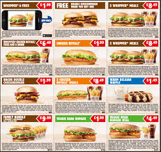 printable vouchers uk burger king printable vouchers january 2015 hotukdeals