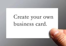 make your own card make your own business card image collections business card template