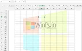 cara membuat tulisan watermark di excel cara memberi watermark pada excel 2013 winpoin