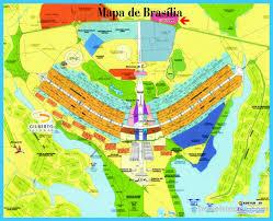 map of brasilia cool map of brasilia travelsmaps travel maps and