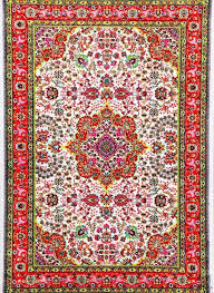 Affordable Persian Rugs 3045 Ivory Colorful Isfahan Oriental Area Rugs Oriental Ivory