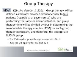 Rug Iv Classification System Pps Fy 2012 Final Rule More Big Changes In Therapy Coding And