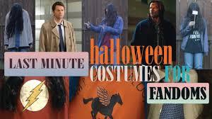 fandom halloween costumes supernatural percy jackson