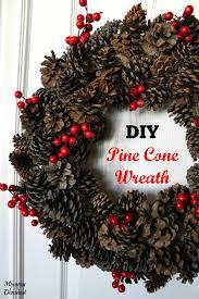 pine cone wreath pine cone wreath on demand