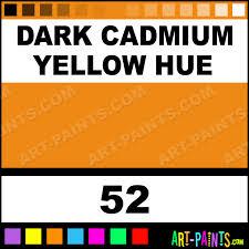 dark cadmium yellow hue studio acrylic paints 52 dark cadmium