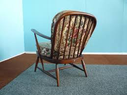 Ercol Windsor Rocking Chair Vintage Model 203 Easy Chairs By Lucian Ercolani For Ercol Set Of