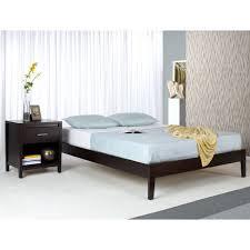King Size Platform Bed Solid Wood Tapered Leg King Size Platform Bed Free Shipping