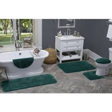Bathroom Contour Rugs Reflections 5 Piece Bath Rug Contour Lid Tank Lid U0026 Tank Cover