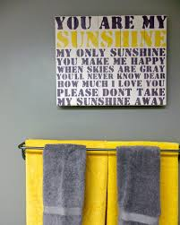 Bathroom Yellow And Gray - grey and yellow bathroom contemporary bathroom toronto by