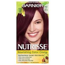 brown cherry hair color black cherry hair dye target