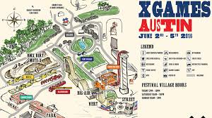 Downtown Austin Map by X Games Austin 2016 Dates Announced