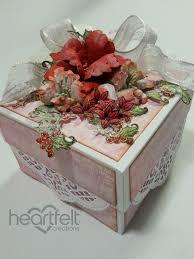 christmas gift box tutorial heartfelt creations