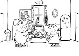 peppa pig coloring pages sheets http freecoloring pages org