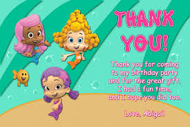 bubble guppies invitations boy general prints