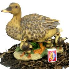 duck with ducklings duck family resin garden ornament 37 99
