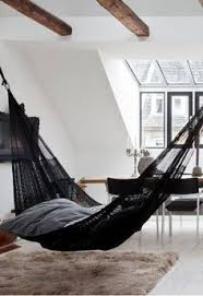an open indoor outdoor space w a hammock maison pinterest
