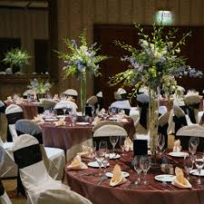 Big Glass Vases For Centerpieces by Jewish Wedding Ceremony In Beverly Hills Complex White And Gold
