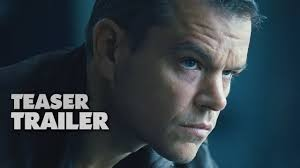 jason bourne official film teaser trailer 2016 matt damon