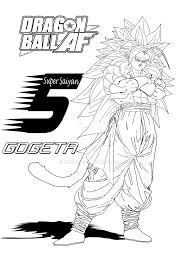 super saiyan 5 gogeta by ruga rell on deviantart