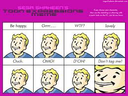 Vault Boy Meme - kawaii expressions meme by ninjakirby14 on deviantart