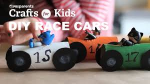 diy tp roll race cars crafts for kids pbs parents youtube