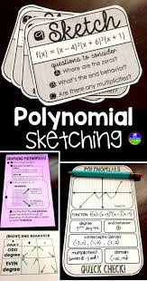 scaffolded math and science teaching polynomial sketching