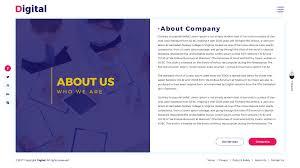 digital freelancer agency it firm psd template by createuiux