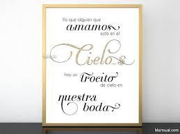 Wedding Memorial Wedding Memorial Sign In Spanish Ya Que Alguien Que Amamos Está