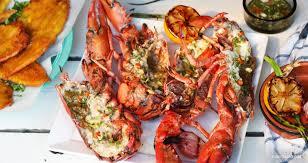 cuisiner homard vivant homard grillé au rhum brun et piment kedny cuisine