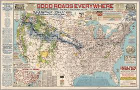 highway map of the united states united states touring map david rumsey historical map collection