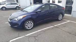 used 2013 hyundai elantra gl local trade to sale for 9 in port