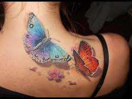 butterfly tattoos for