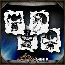 mini airbrush stencils ebay