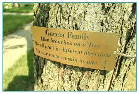 outdoor memorial plaques tree memorial plaques 2