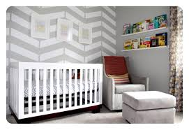 Babyletto Rocking Chair The Nursery Herringbone Wall Babyletto Modo Crib West Elm
