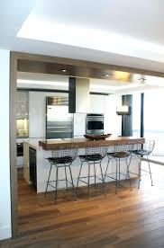cr馥r une cuisine ouverte creer ma cuisine creer ma cuisine bois brut et style industriel
