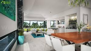 dreamy modern house rendering ideas by yantram exterior rendering
